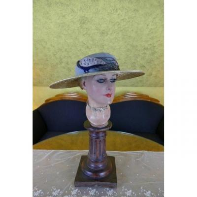 Best & Co. Peacock Hat, New York, Ca. 1913
