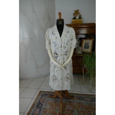 Manteau d'été Blanc, Ca. 1907