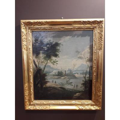Vénétie XVIIIè  Paysage