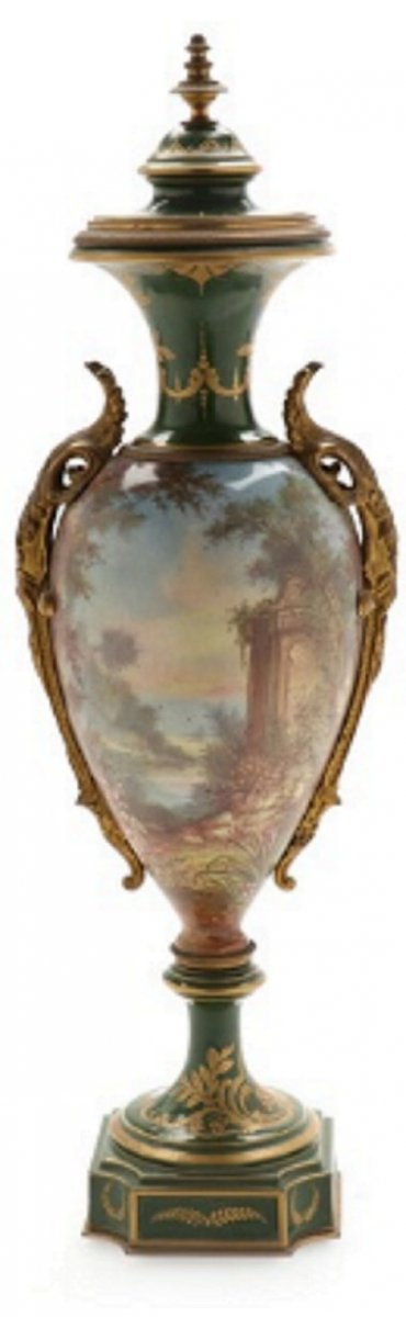 Vase Palace, Type Sevres, XIXème Siècle 62 Cm