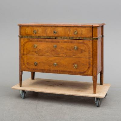 18 Th Century Classical Museum Commode