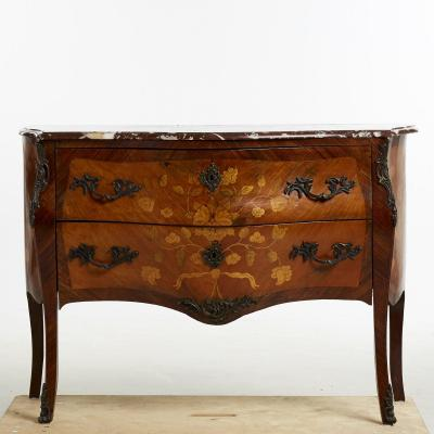 Transitional Commode The Turning Of The Eighteenth And Nineteenth Centuries, Crazy !!!