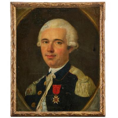 Portrait d'Un Officier,  Paul Bernard Lefebvre De Ville (1731–1819