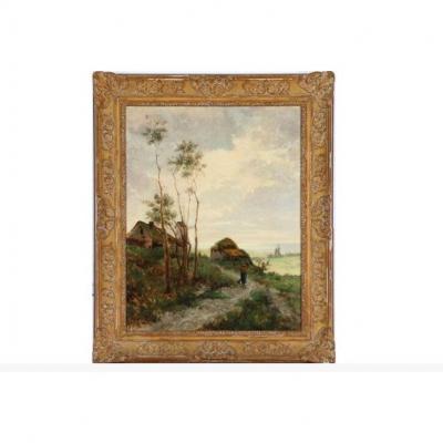 Le Paysage Du Peintre Mulhousien, Alfred-eugène Koechlin (1845-1878)