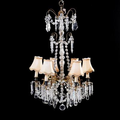 Crystal Chandelier, 19th Century Rarity, Magnificent !!!