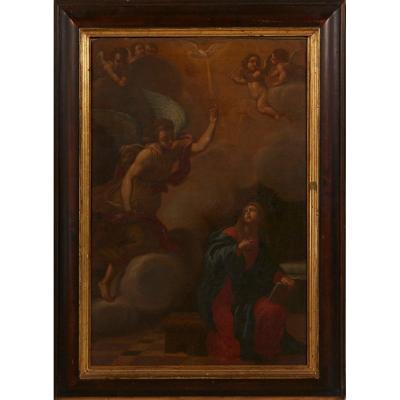 Annonciation à La Bienheureuse Vierge Marie Au XVIIIe Siècle
