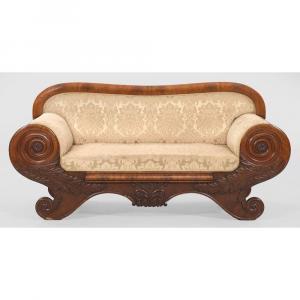 The Biedermeier Sofa Around 1810/30 Is Crazy