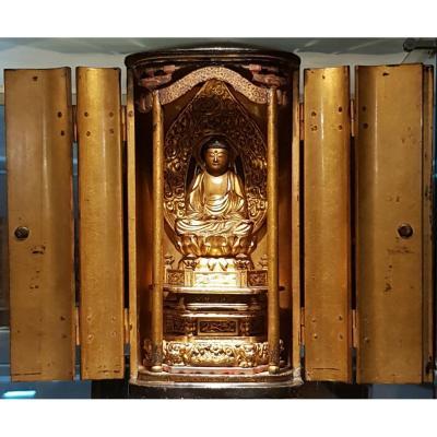 Butsudan - Buddha Amida Nyorai - Edo Era - Japan