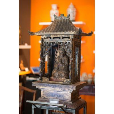 Buddhist Temple - China - Qing Dynasty - 19th