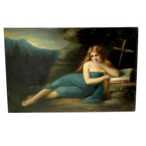Femme Rousse, Nue, XIXe Siècle Entourage De Jean Jacques Henner (1829-1905)