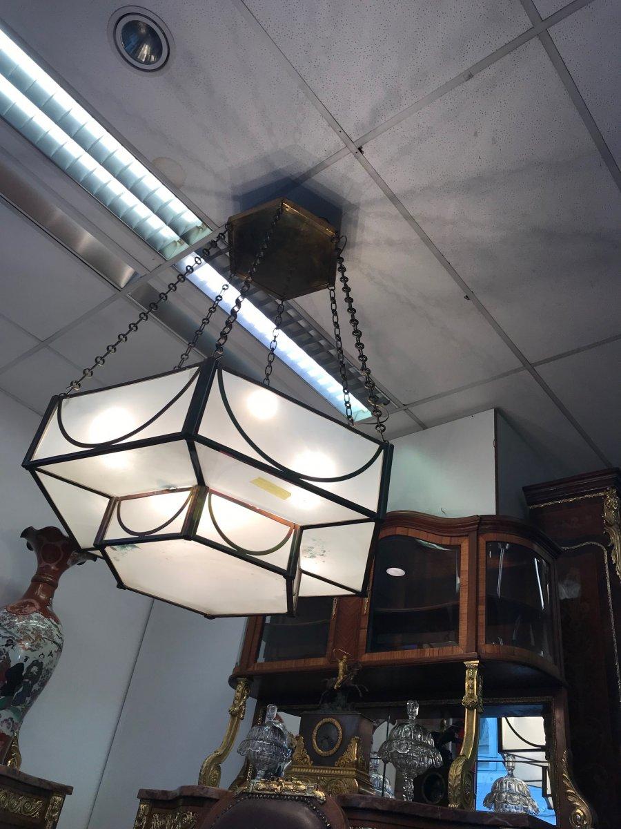 Lustre Art Deco Geante