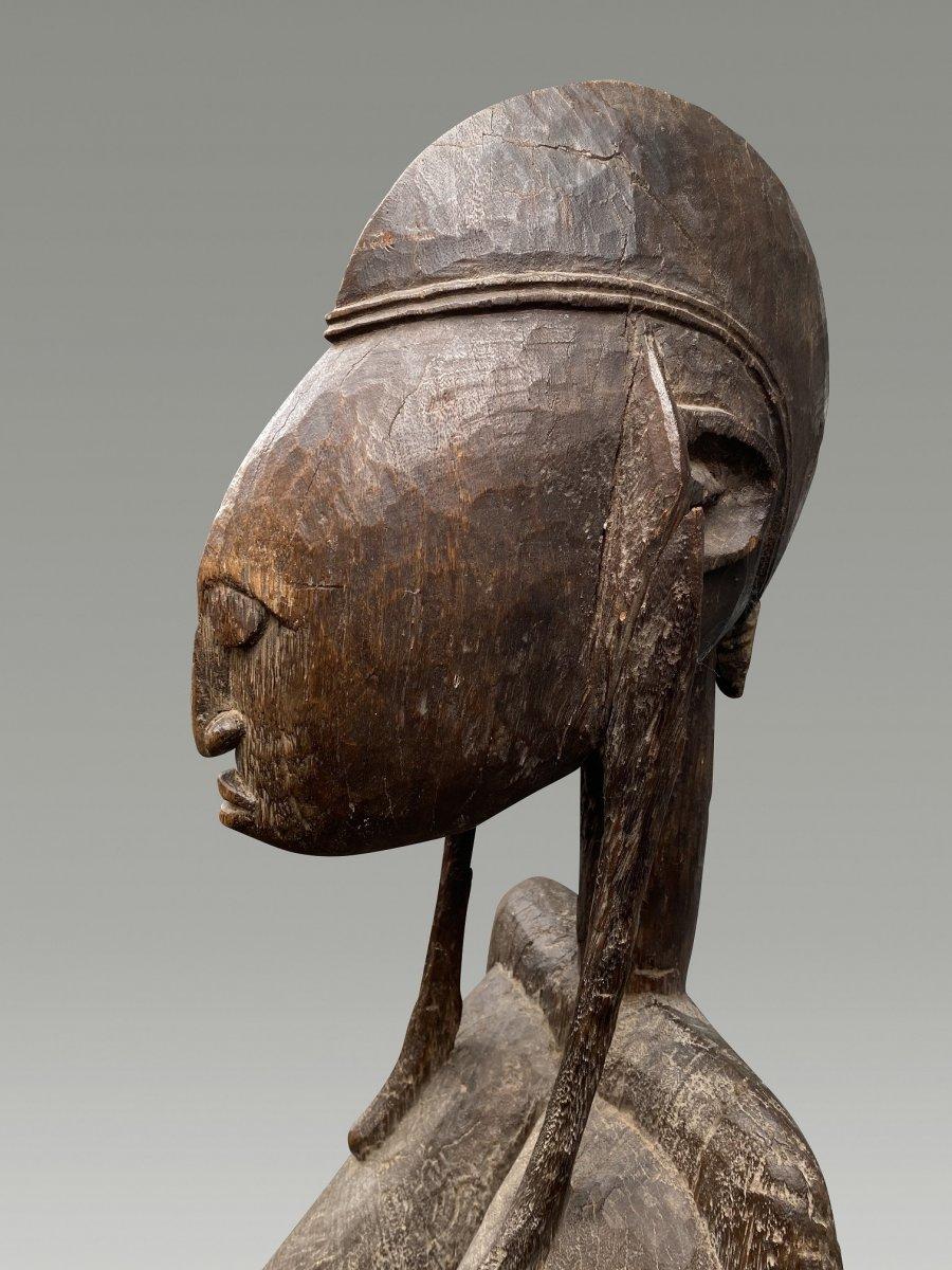 Grande Statue Maternite Bamana  / bambara Du Mali-photo-1