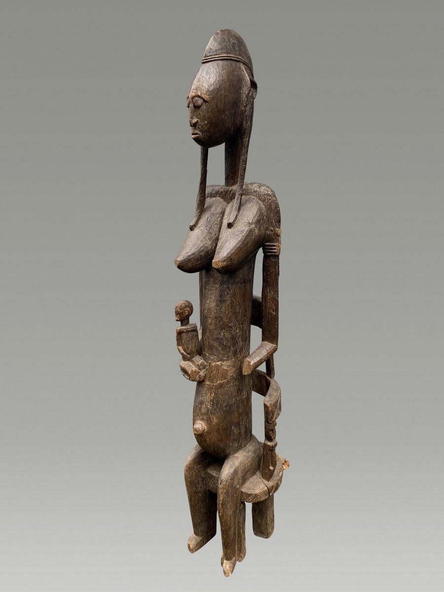 Grande Statue Maternite Bamana  / bambara Du Mali
