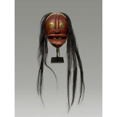 Masque Iroquois Societe Des Faux Visages Amerique Du Nord