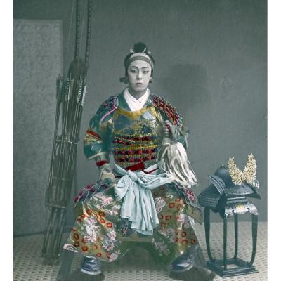 Photographic Glass Plates By Kusakabe Kimbei (1841-1934) Japan 1880