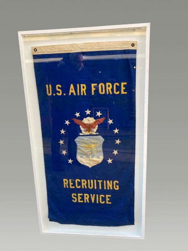 Ancien Drapeau U.s. Air Force  Recruting-photo-2
