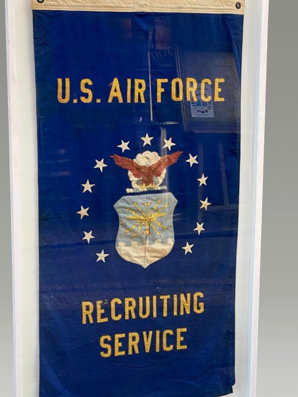Ancien Drapeau U.s. Air Force  Recruting-photo-3