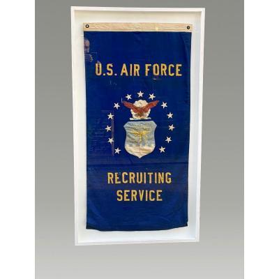 Ancien Drapeau U.s. Air Force  Recruting