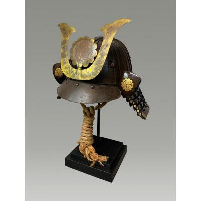 Samurai Helmet, Kabuto Middle Period Edo 32 Slats