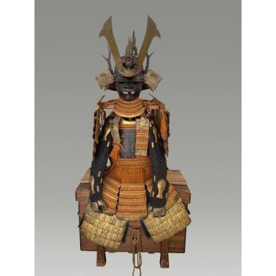 Yoroi Samurai Armor 19 Eme Siecle