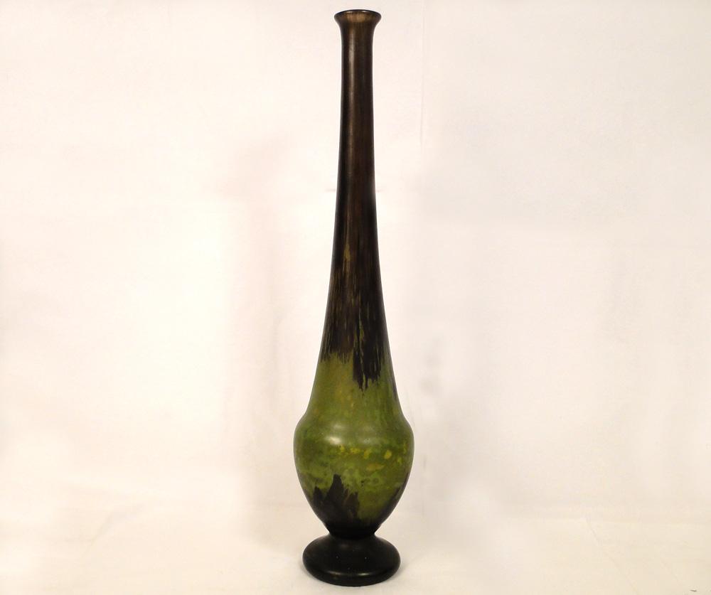 grand vase daum nancy p te de verre 66 cm art nouveau xix. Black Bedroom Furniture Sets. Home Design Ideas