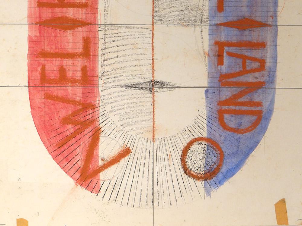 Ensemble Projets Aquarelles Lithographie Ernst Van Leyden Provo Warhol 1967-photo-3