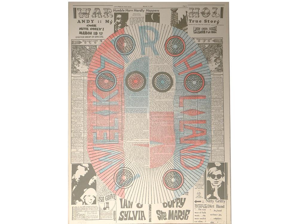 Ensemble Projets Aquarelles Lithographie Ernst Van Leyden Provo Warhol 1967-photo-6