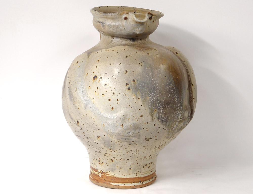Large Anthropomorphous Ceramic Pitcher Jacky Coville 1974 XXth Century