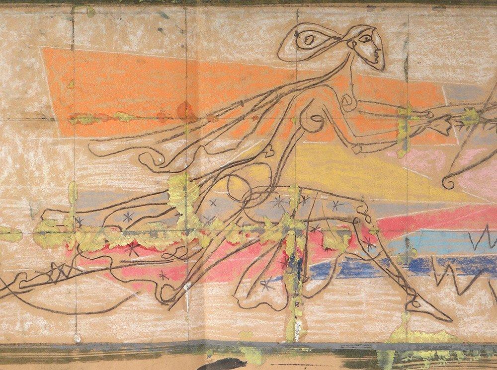 Projets Table Karin Van Leyden Mythologie Actéon Diane Chiens Paul Laszlo-photo-2