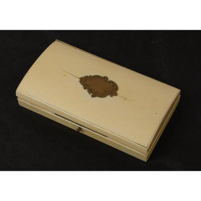 Box Couture Box Ivory Tahan Paris Napoleon III XIX