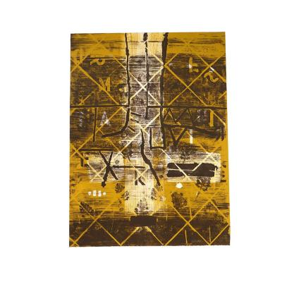 Lithographie Couleurs Ernst Van Leyden 1966 Composition Abstraite 2/20 XXè