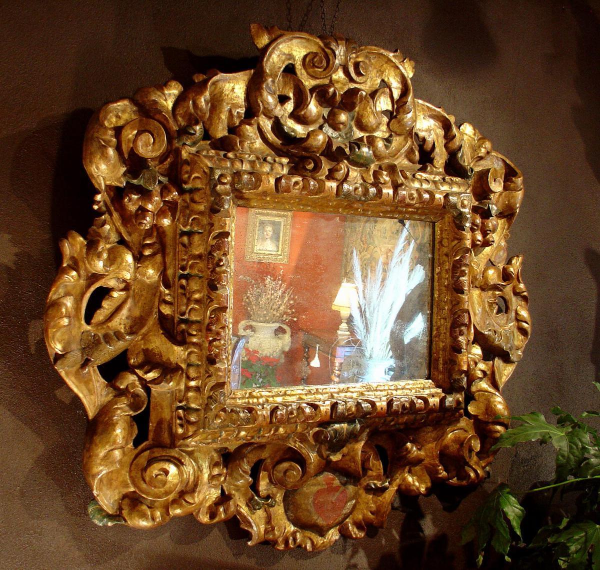 Miroir baroque 17 eme siecle espagne miroirs for Acheter miroir baroque