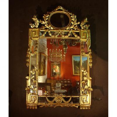 18th Louis XIV Mirror Aix In Provence