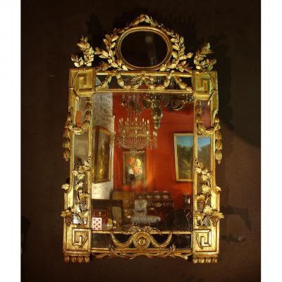 Miroir 18ieme Louis XI Provence