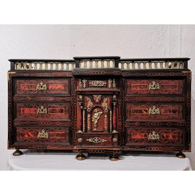 18th Century Spanish Travel Cabinet