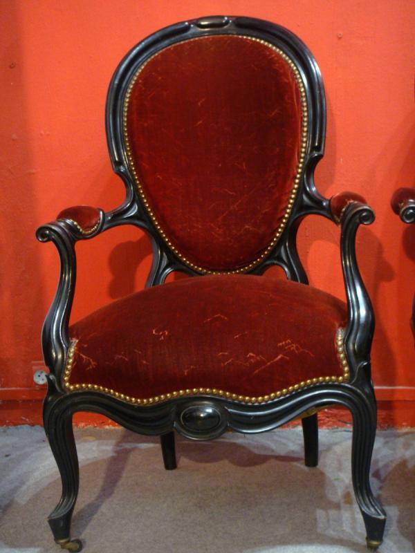 Napoleon III Armchairs-photo-2