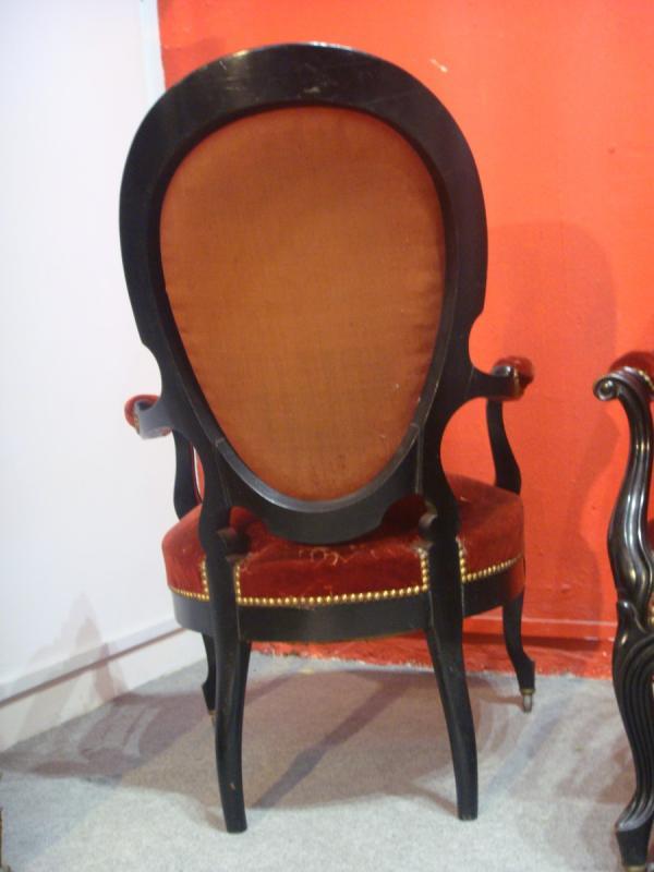 Napoleon III Armchairs-photo-3