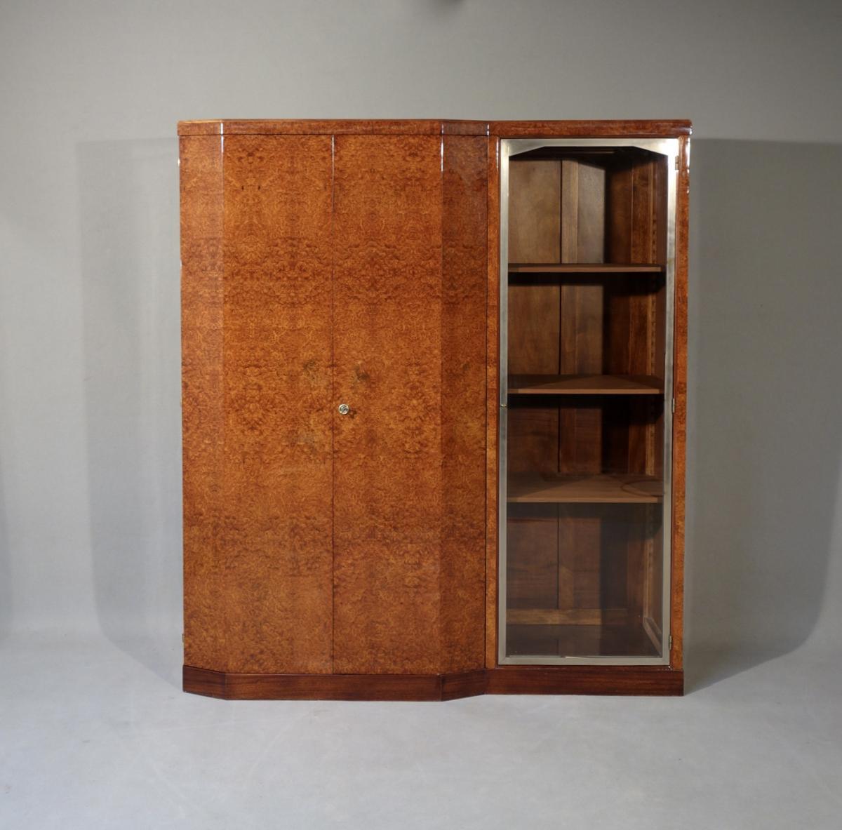 Bibliothèque Art Déco