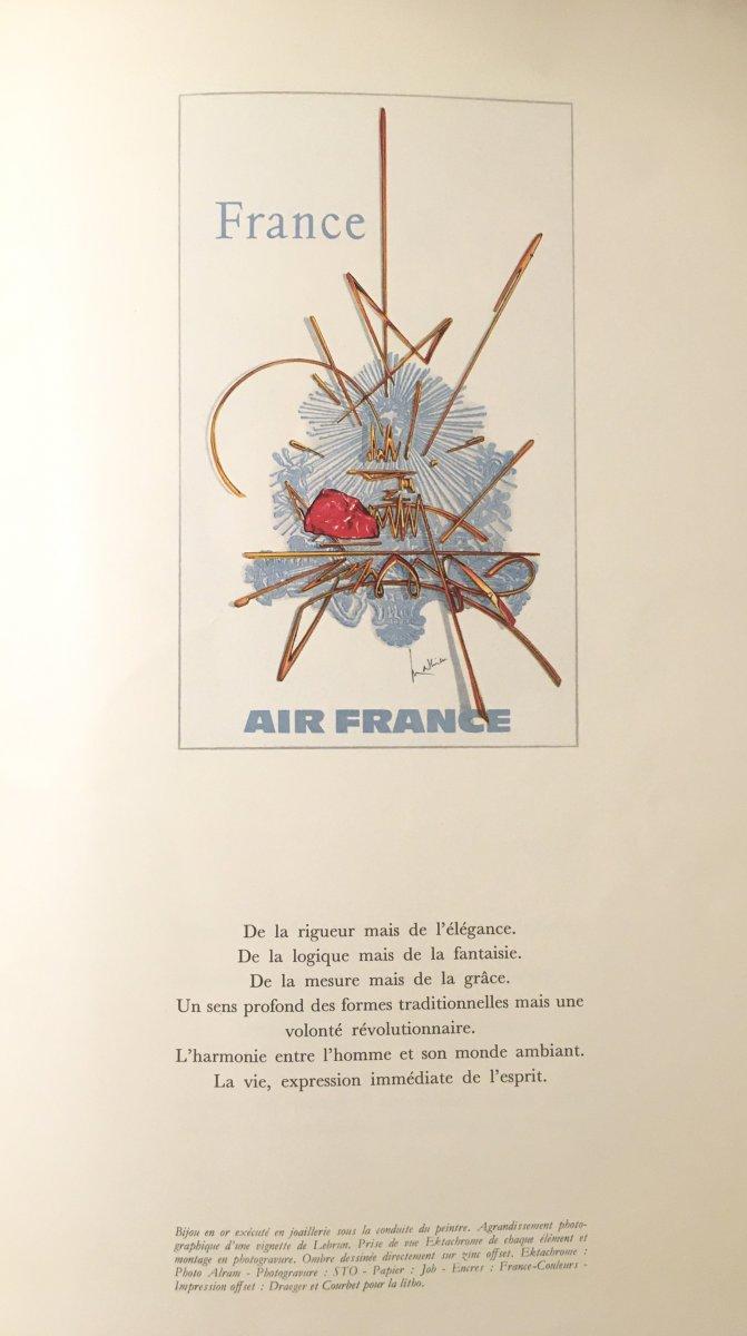 Affiche Air France Georges Mathieu-photo-2