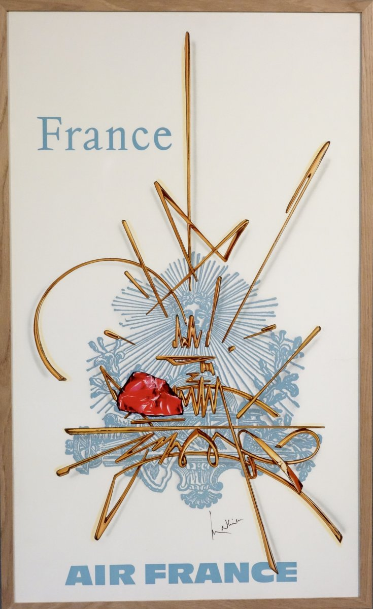 Affiche Air France Georges Mathieu