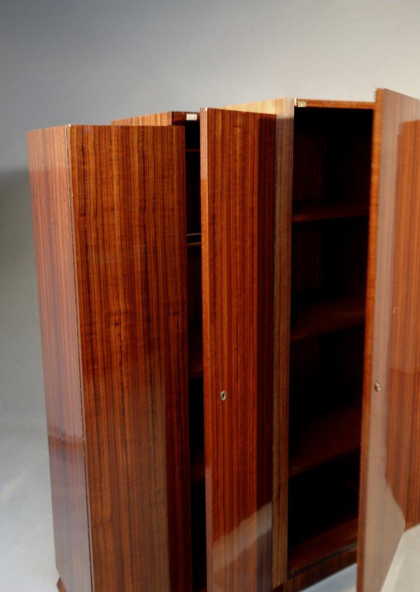 Bibliothèque Art Déco Signée Arbey-photo-3