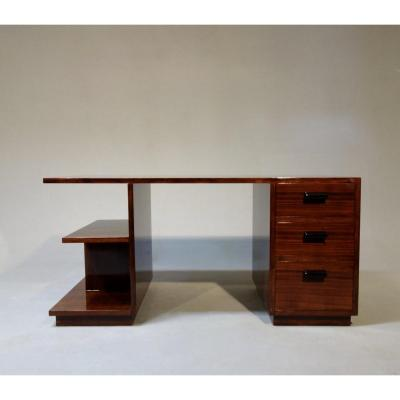 Art Deco Desk Signed Arbey