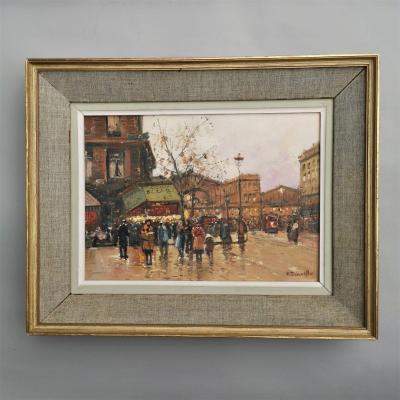 Henri-alexis Schaeffer (1900-1975). Gare De l'Est, Paris.