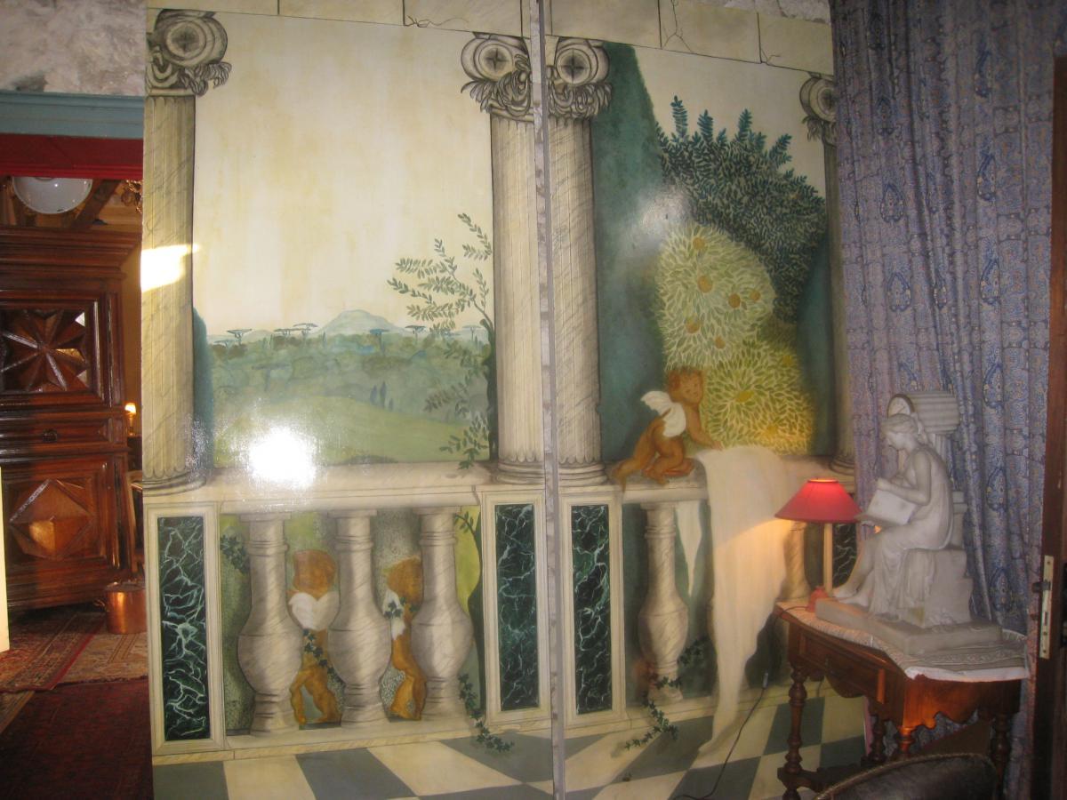 panneaux trompe l 39 oeil tableaux autre genre. Black Bedroom Furniture Sets. Home Design Ideas