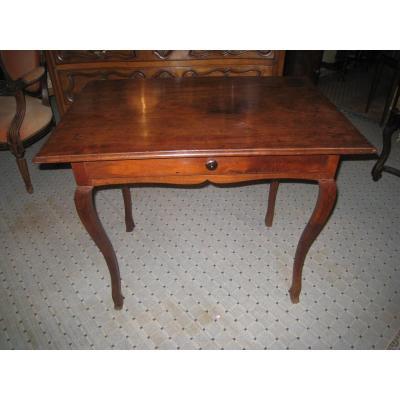 Table Louis XV Acajou De Cuba