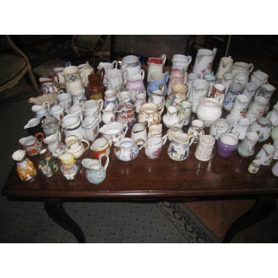 Collection De Pots à Lait