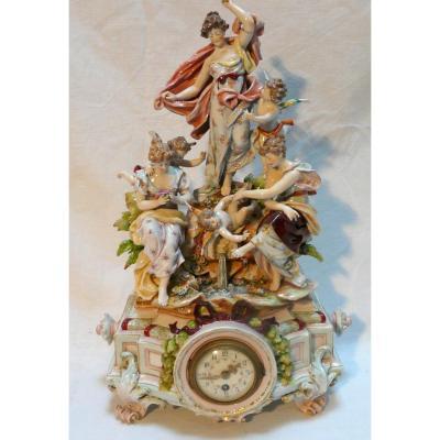 Porcelain Pendulum, 19th Century