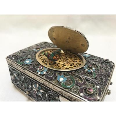 Automate Ancien, Boîte à oiseau chanteur