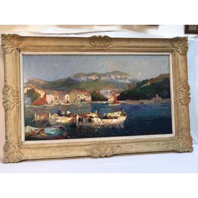 Tableau Van Den Bussche, Port De Cassis