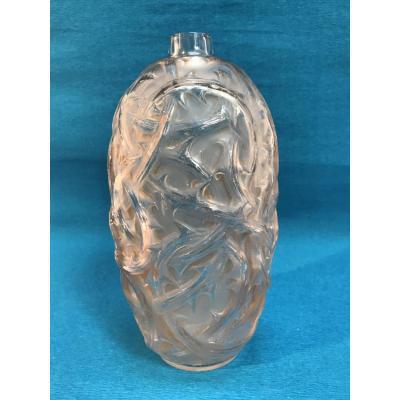 """Vase R.Lalique Modèle """"Ronces"""""""
